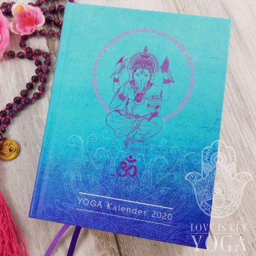 YOGA Kalender 2020 Cover
