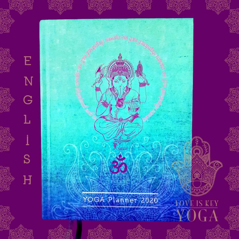 YOGA Planner 2020 Cover english version