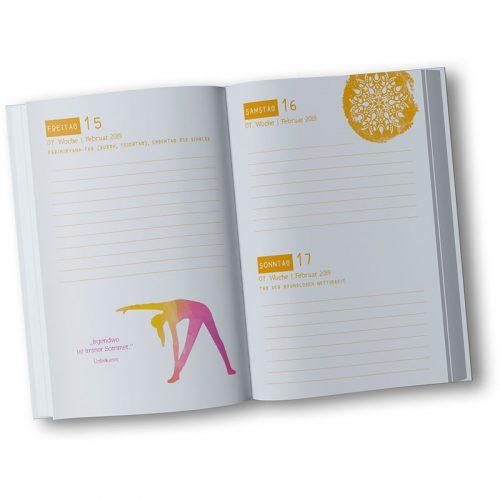 Yoga Kalender 2019 DIN A6