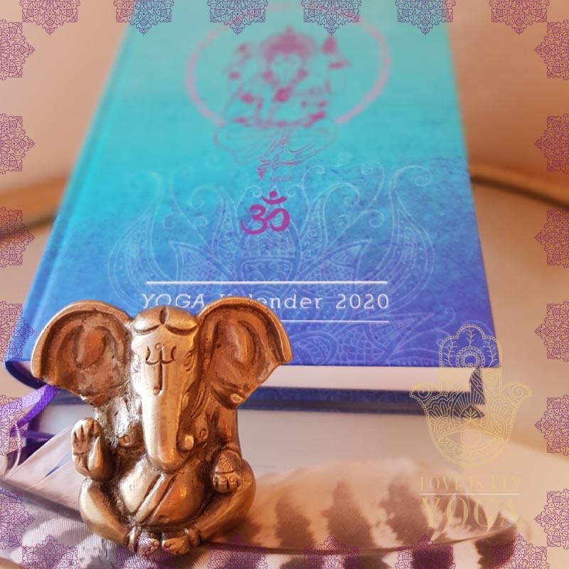 Ganesha aus Messing 4,5 cm