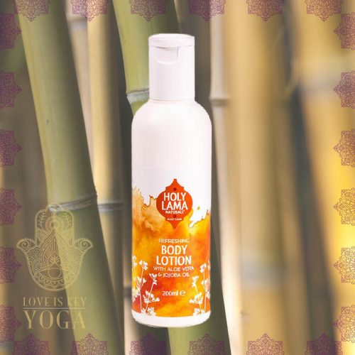 Holy Lama Body Lotion mit Aloe Vera und Jojoba Oil