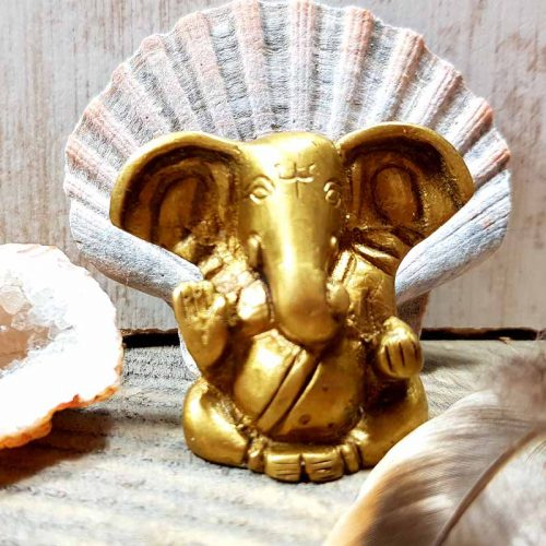 Ganesha aus Messing