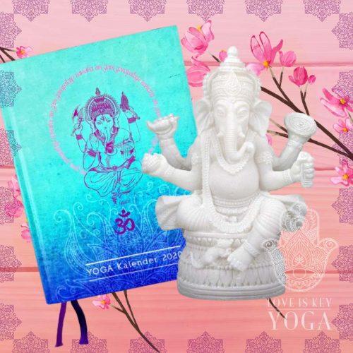 YOGA Kalender 2020 mit lovely Ganesha