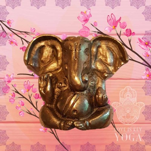 Little Ganesha aus Messing 4,5 cm