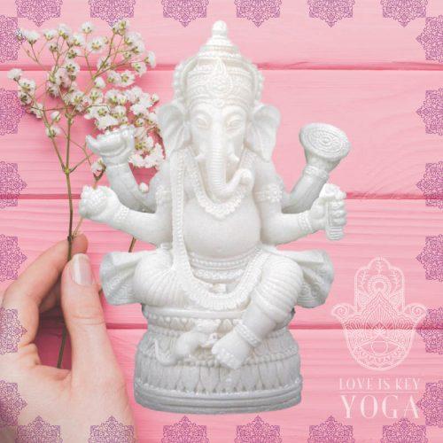 Ganesha aus Alabaster