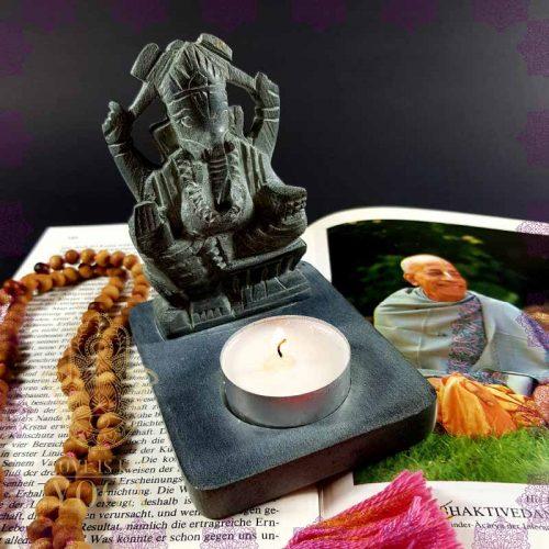Ganesha Teelichthalter 2
