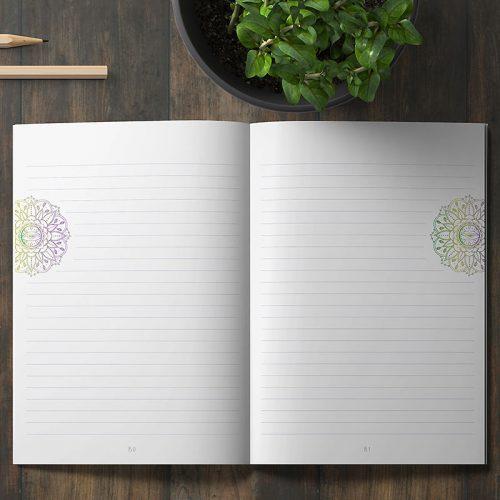 Yoga Notizbuch Ganesha - innen 2