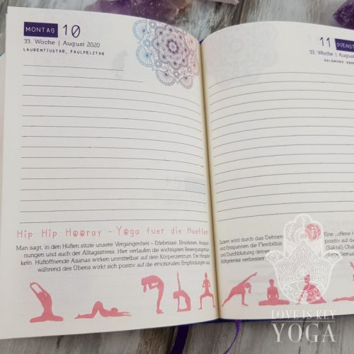 Yoga Kalender 2020 Deutsch | SALE