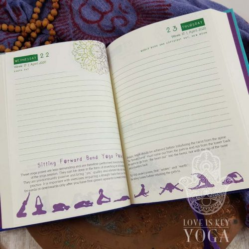 Yoga Planner 2020 English | SALE