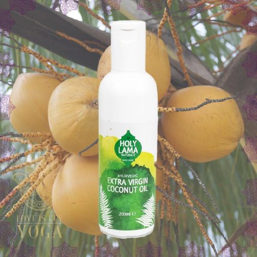 Holy Lama Ayurveda Coconut Oil extra virgin (pure) 200ml