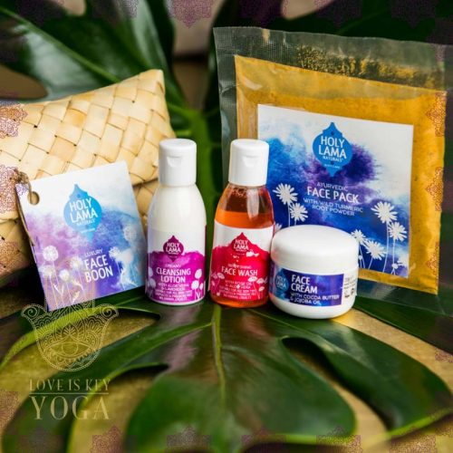 Holy Lama Ayurvedisches Set fürs Gesicht FACE BOON