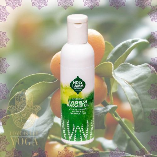 Holy Lama Ayurveda Massage & Körper Öl EVERFRESH 100ml
