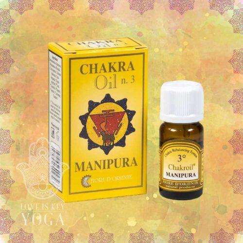Chakra Oil n. 3 von FIORE D´ORIENTE (10ml)