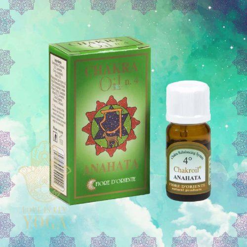 Chakra Oil n. 4 von FIORE D´ORIENTE (10ml)