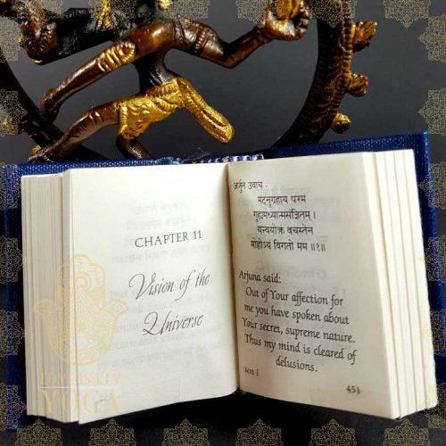 Bhagavad Gita - Miniatur (ca. 6x4,5x3cm)
