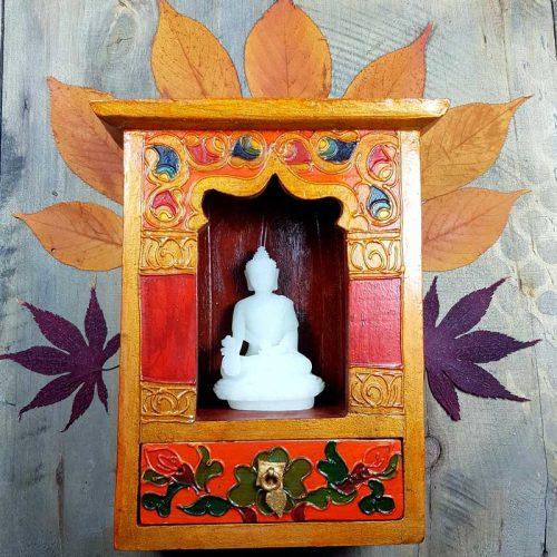 Handbemalter Altar