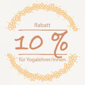 Rabatt Yogalehrer/innen