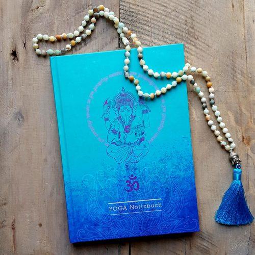 Notizbuch Ganesha tyrkis
