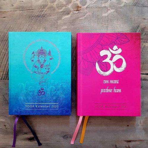 YOGA Kalender 2020 und 2021 Set