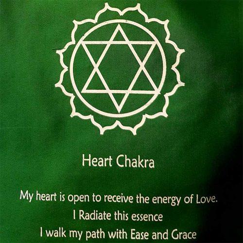 Chakrafahne Heart