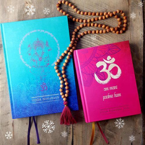 Avent SET Kalender Notizbuch und Mala