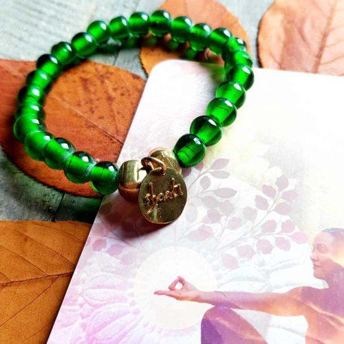 Armband Shanti Gruen