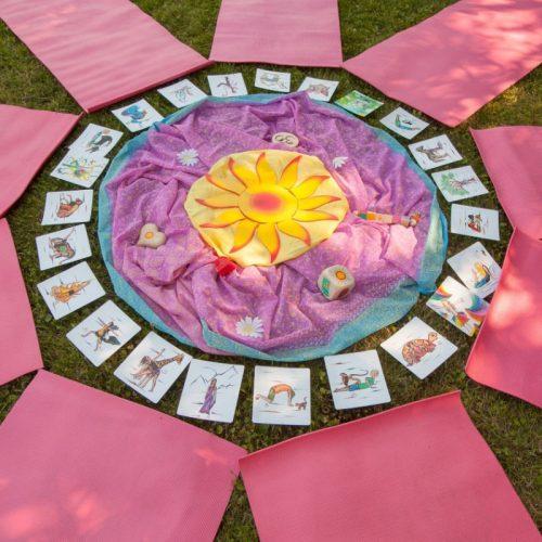 Kinder Yogakarten XL 1