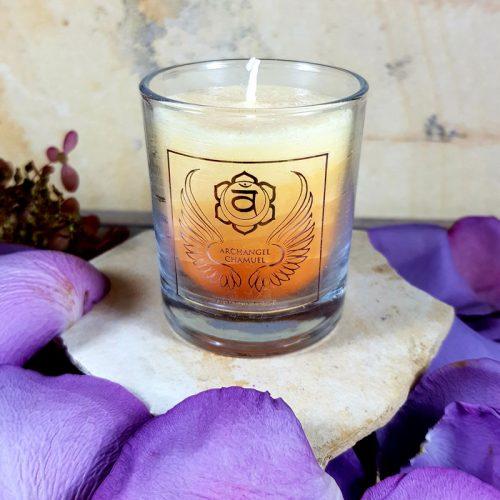 Erzengel Kerze Chamuel 2 Chakra