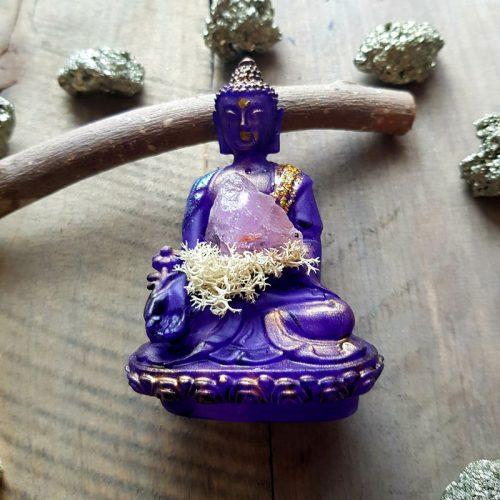 Amethyst Buddha