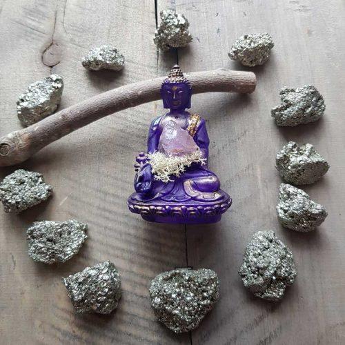 Amethyst Buddha 1