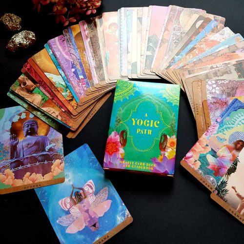Kartenset A Yogic Path