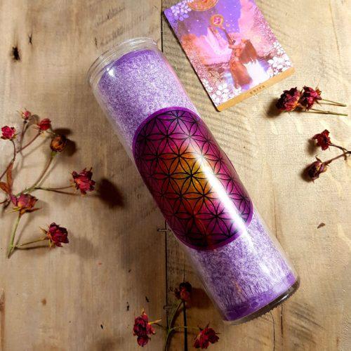 Kerze BdL purple