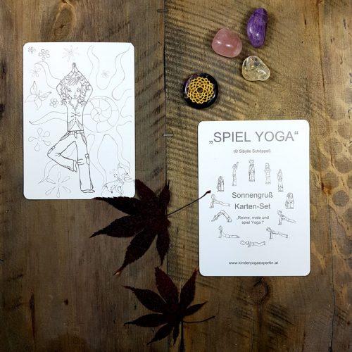 Kinder Yoga Karten
