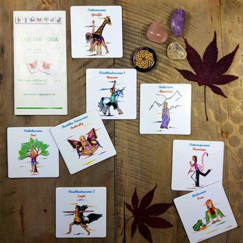 Kinder Yoga Karten 1