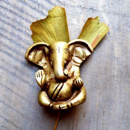 Ganesha Messing Klein Neu