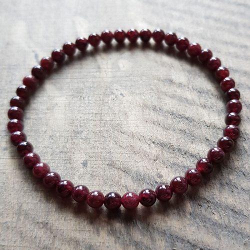 Granat Armband 1