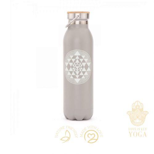 Flasche Yantra grau