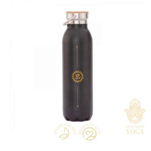 Flasche Schwarz Om
