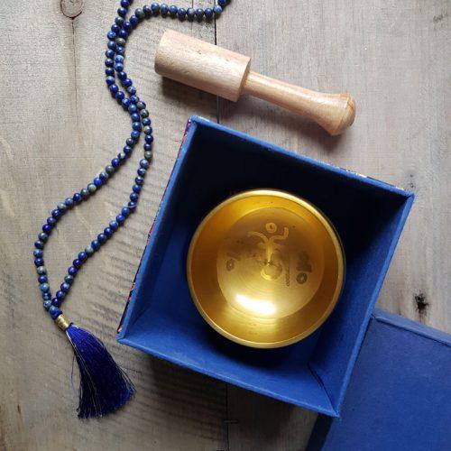 Klangschale Blaue Box 2