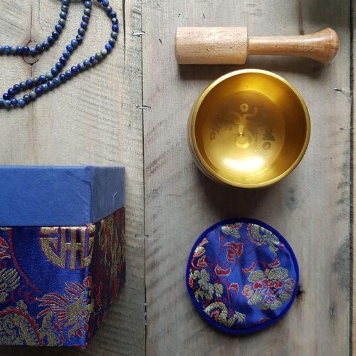 Klangschale Blaue Box 4