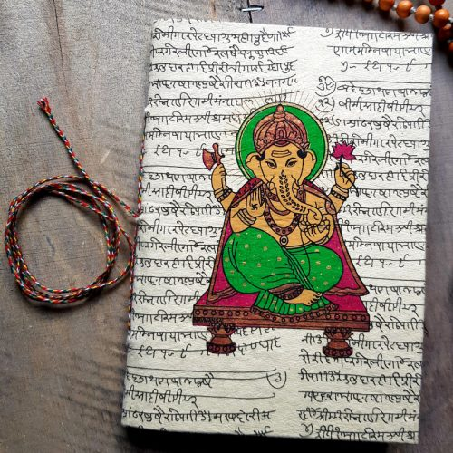 Notizbuch aus Nepal 1