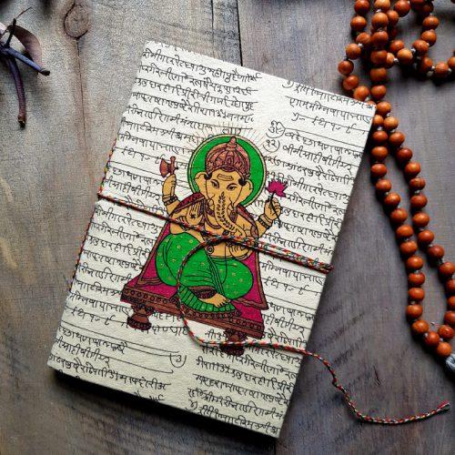 Notizbuch aus Nepal