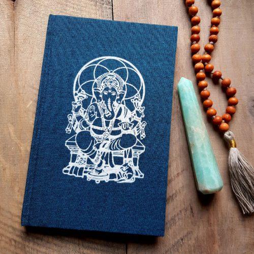Notizbuch Ganesha Blauer 1