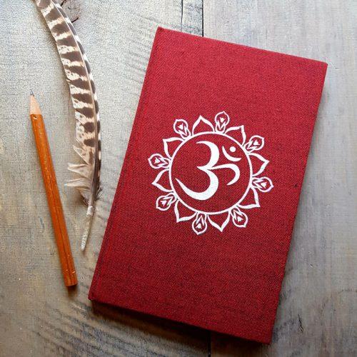 Notizbuch OM Mandala Rot