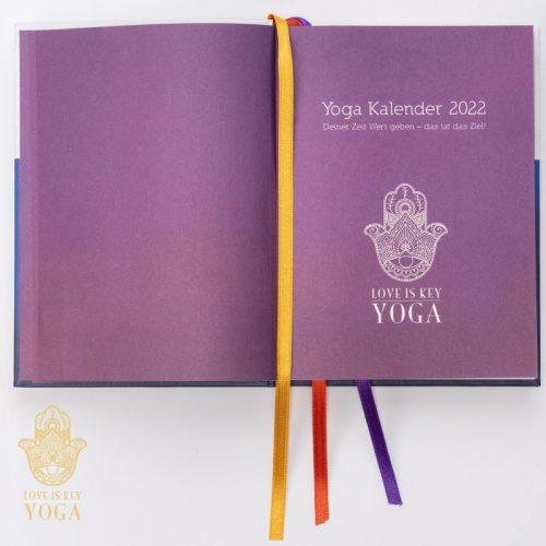 YOGA Kalender 2022 Innenseite 4