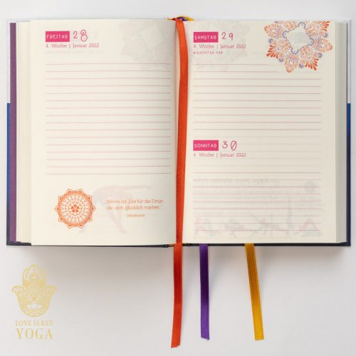 YOGA Kalender 2022 Innenseite 3