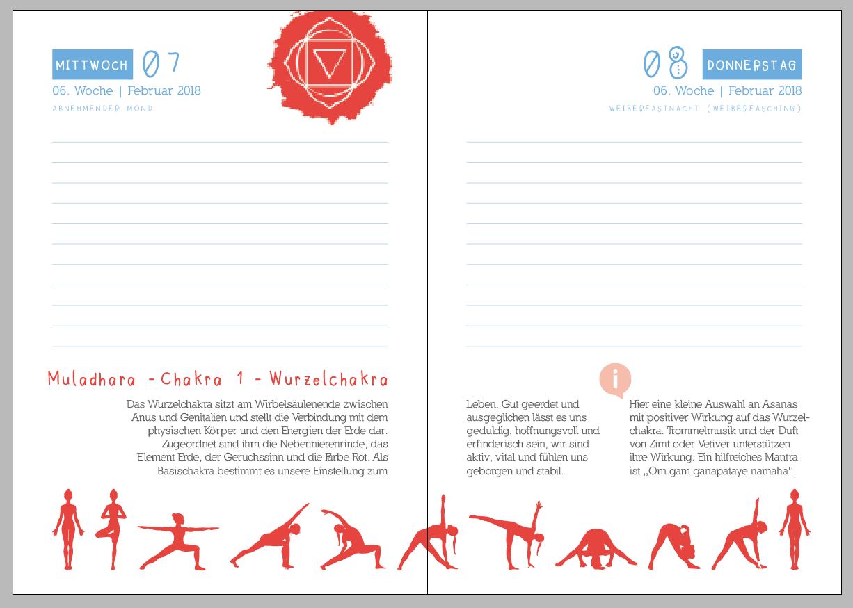 Yoga Sequenz Muladhara Chakra