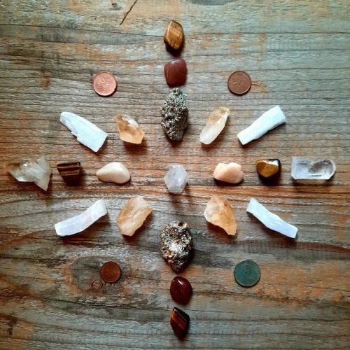 Crystal Grid Abundance 7