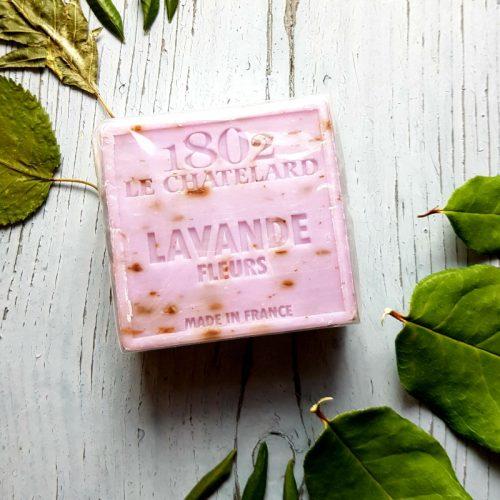 Lavendelblueten Seife Le Chatelard 1802