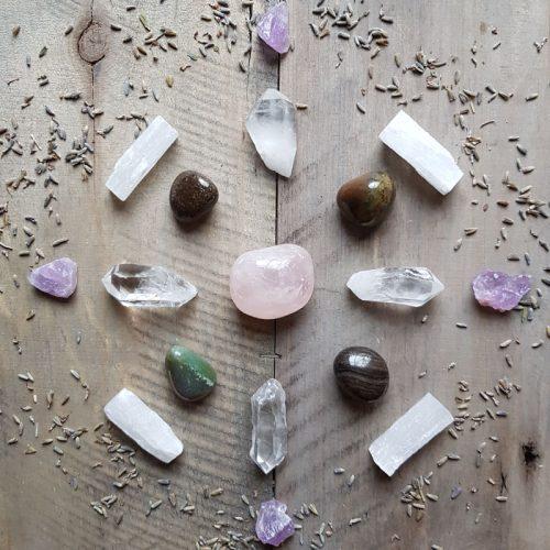 Liebe Und Engergie Crystal Grid 1